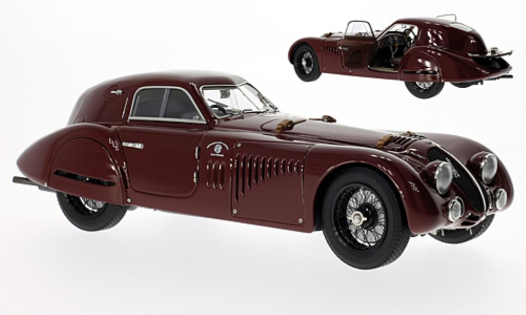 Alfa Romeo 8C 2900 1/18 CMC B Speciale Touring Coupe rouge 1938 miniature