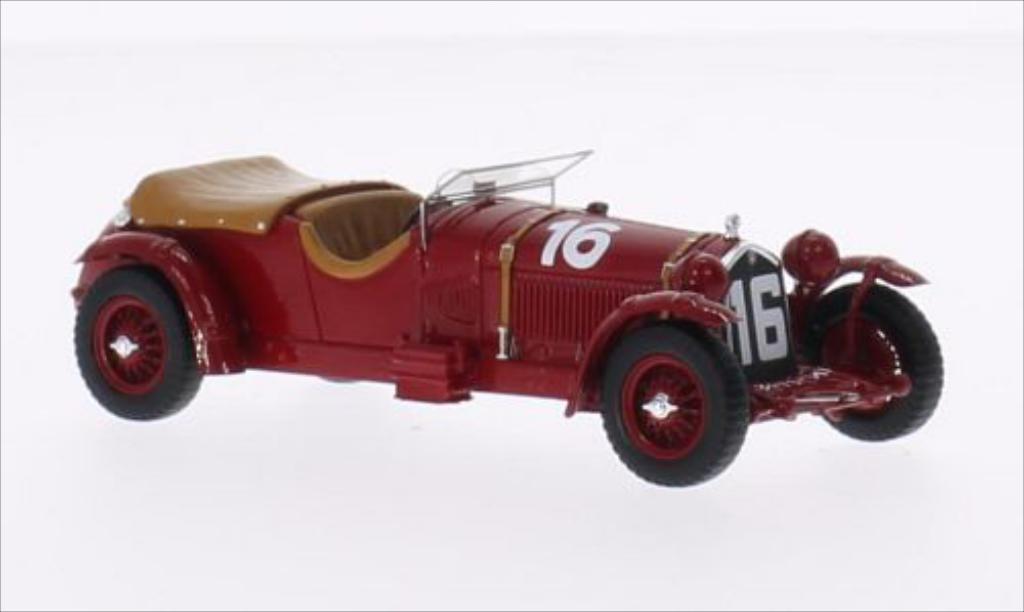 Alfa Romeo 8C 1/43 Spark RHD No.16 24h Le Mans 1931 /H.Birkin diecast