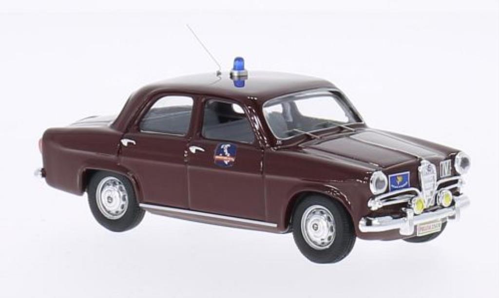 Alfa Romeo Giulietta 1/43 Rio Polizia Autostradale miniature
