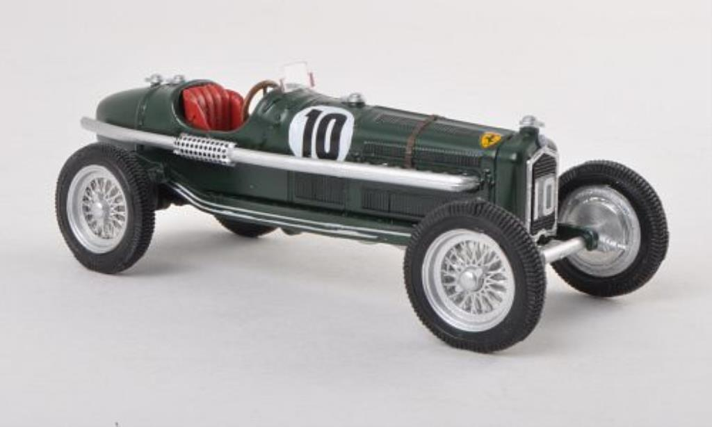 Alfa Romeo P3 1/43 Rio No.10 Crystal Palace 1939 miniatura