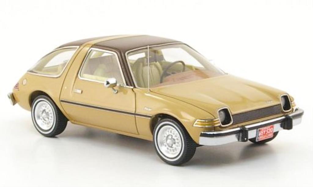 AMC Pacer 1/43 Neo beige/marron 1975 miniature