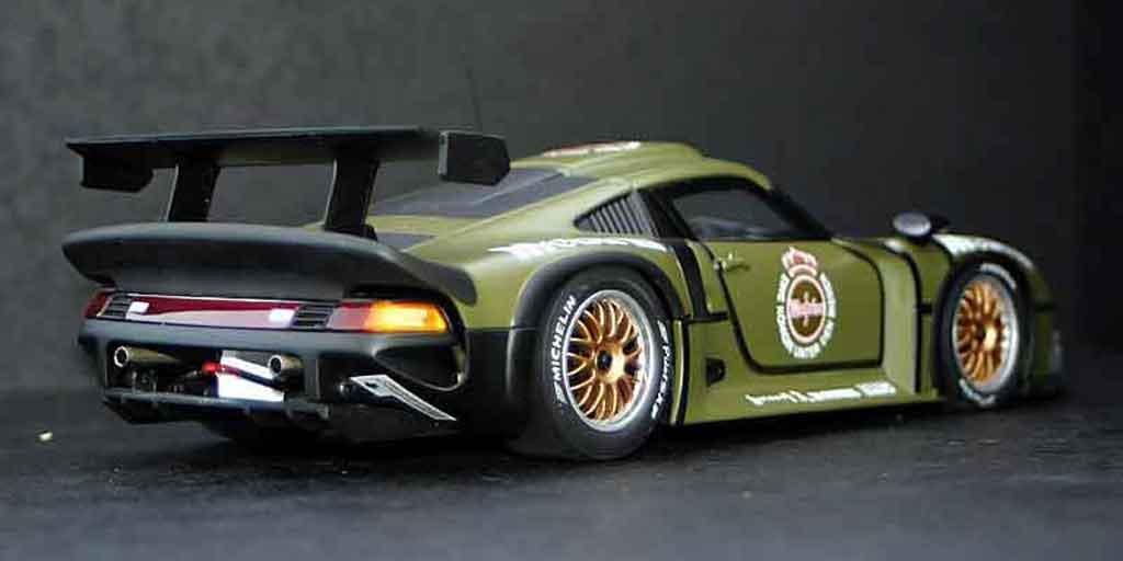 Porsche 993 GT1 1/18 Ut Models GT1 96 test car miniature