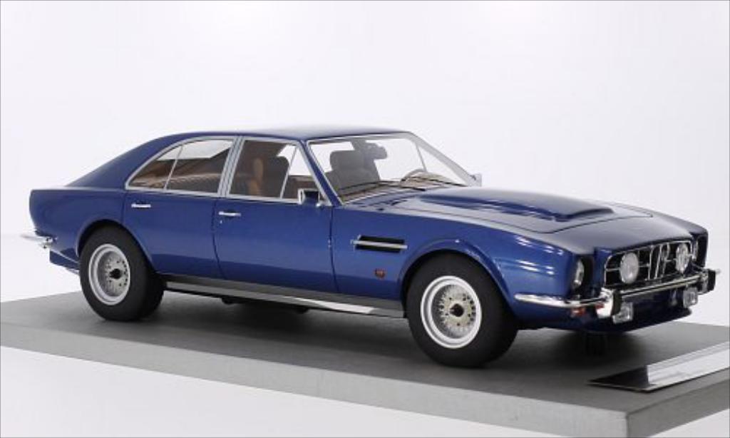 Aston Martin Lagonda 1/18 Tecnomodel V8 4-Door Saloon metallic-bleu 1974
