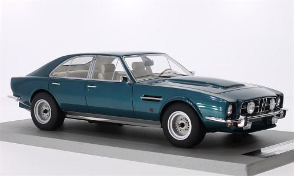 Aston Martin Lagonda 1/18 Tecnomodel V8 4-Door Saloon metallic-verte 1974 miniature