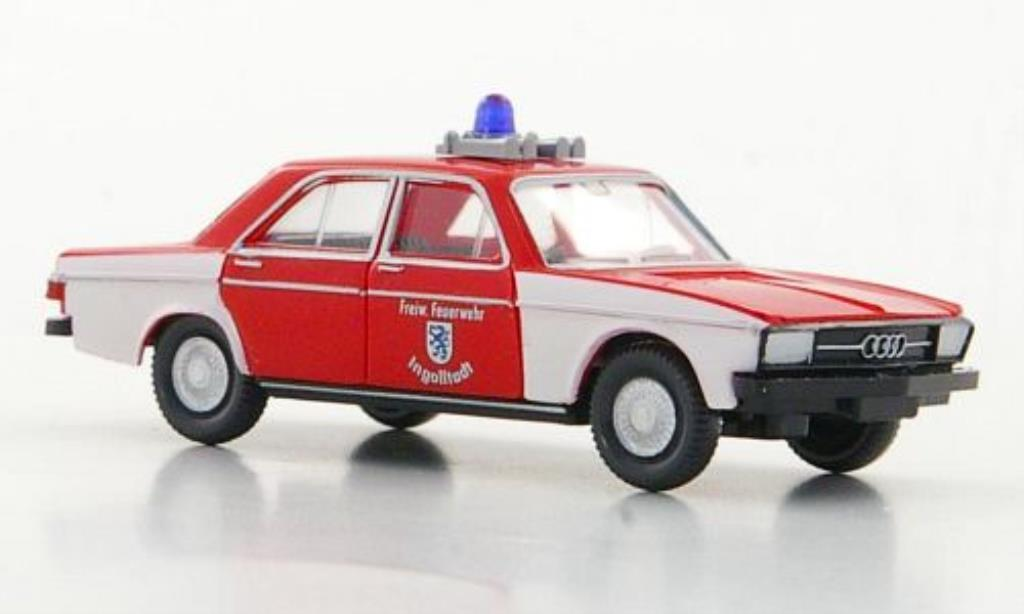 Audi 100 1/87 Wiking Freiwillige Feuerwehr Ingolstadt miniature
