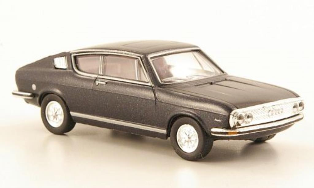 Audi 100 coupe S 1/87 Herpa black diecast model cars