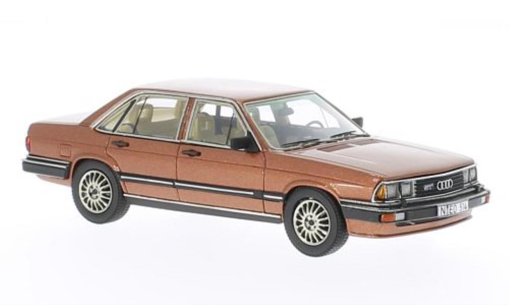 Audi 200 1/43 Neo 5T (Typ 43) kupfer 1980 miniature