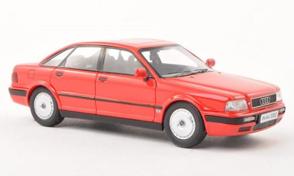Audi 80 1/43 Neo (B4) rouge 1992 miniature