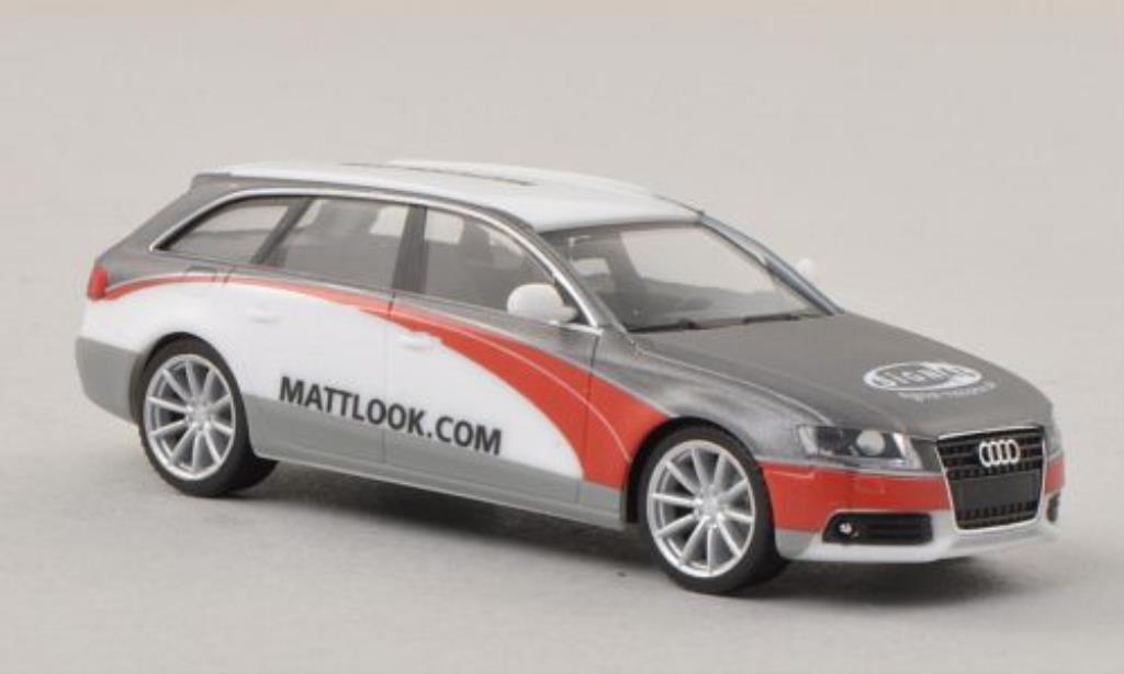 Audi A4 Avant 1/87 Herpa SignalReklame / mattlook.com miniature