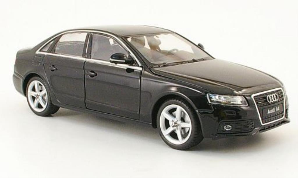 Audi A4 1/24 Welly black 2009 diecast model cars