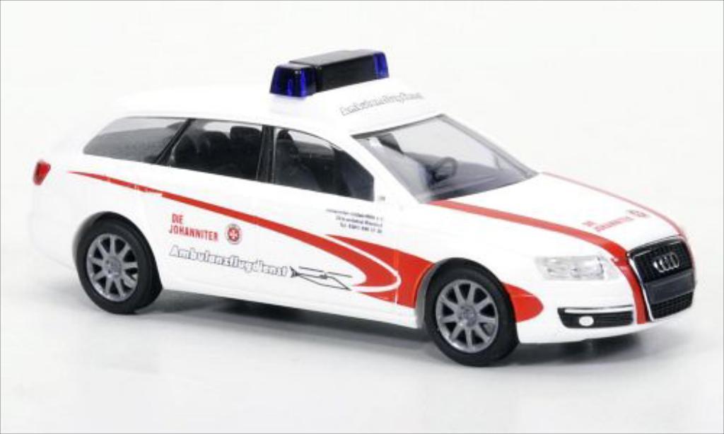 Audi A6 Avant 1/87 Busch Avant Die Johanniter 2004 miniature