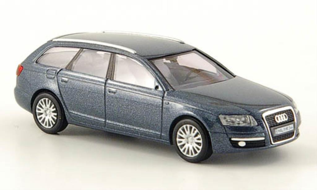 Audi A6 Avant 1/87 Busch Avant grise 2004 miniature