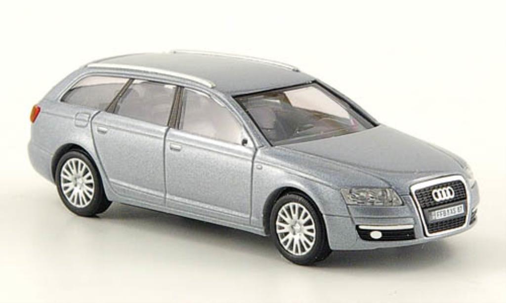 Audi A6 Avant 1/87 Busch Avant grise CMD 2004 miniature