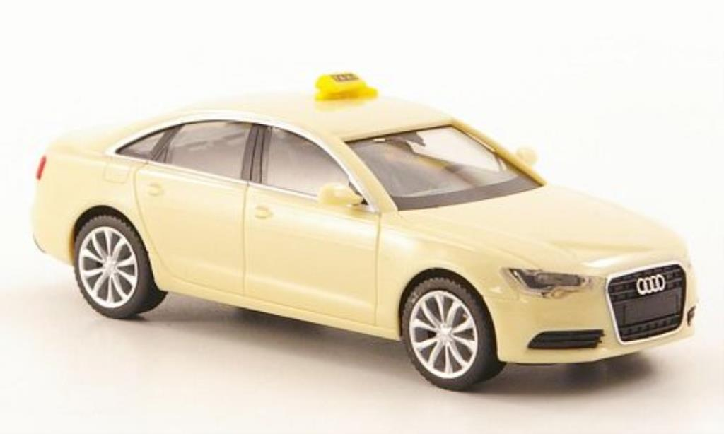 Audi A6 1/87 Herpa Limousine Taxi diecast