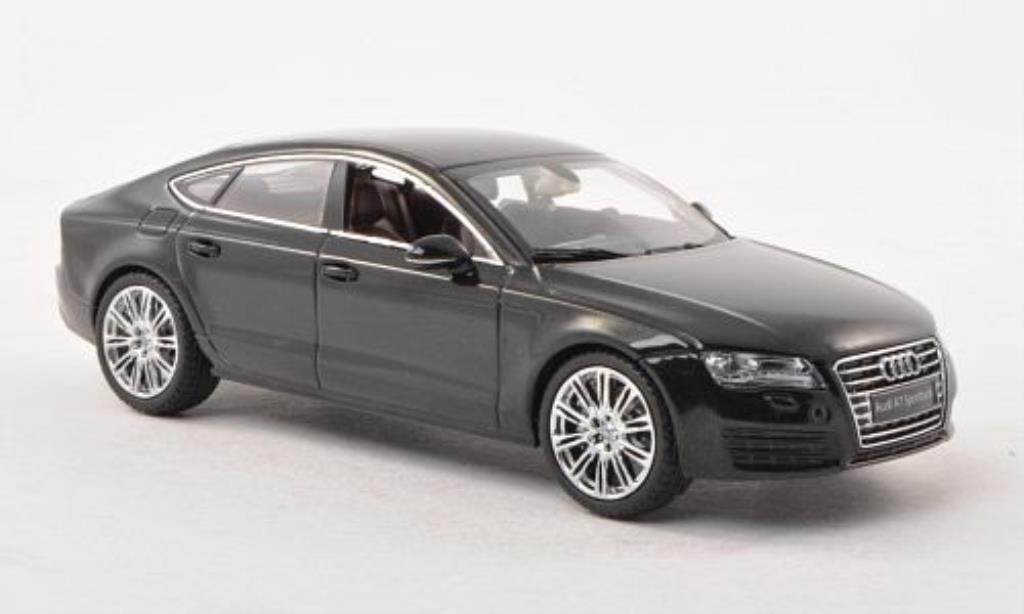 Audi A7 1/43 Kyosho Sportback noire