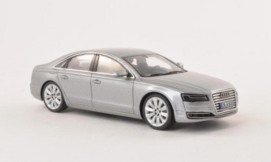 Audi A8 1/43 Spark grise 2014 miniature