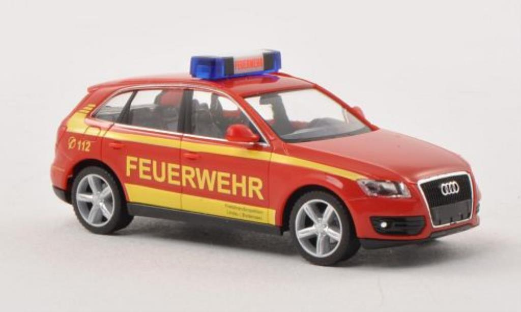 Audi Q5 1/87 Herpa Feuerwehr Lindau/Bodensee ELW miniature