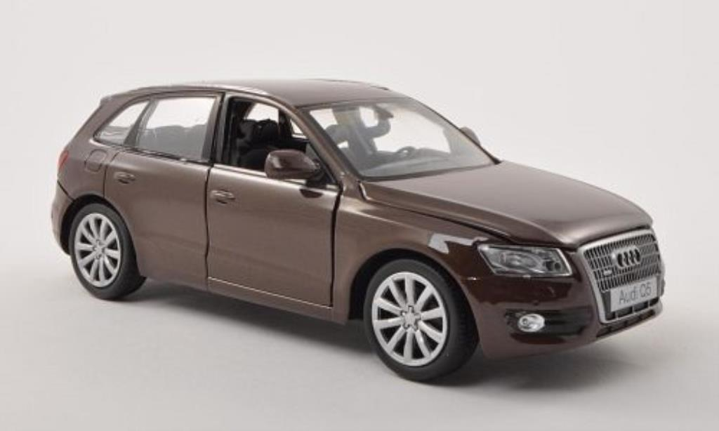 Audi Q5 1/24 Motormax marron miniature