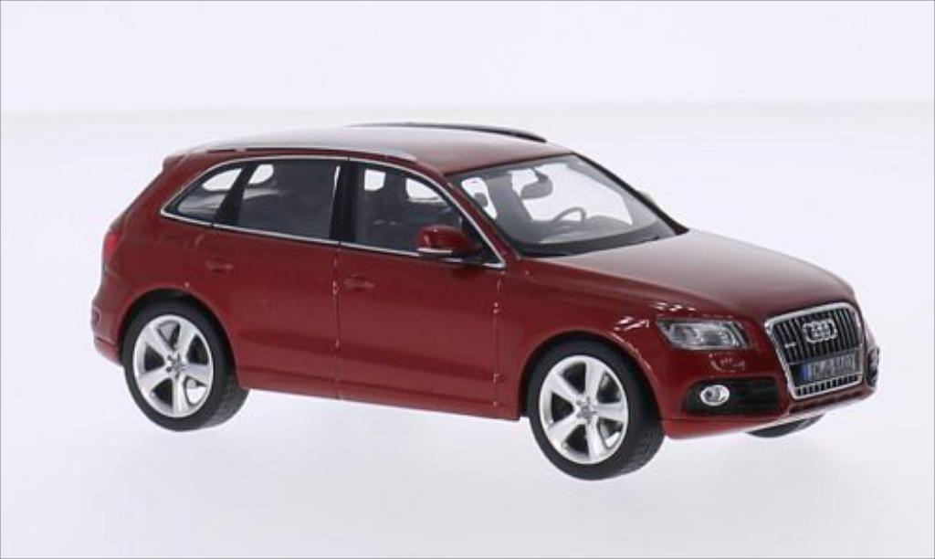 Audi Q5 1/43 Schuco metallise rouge miniature