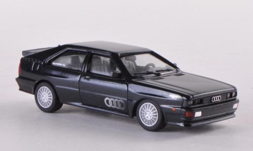 Audi Quattro 1/87 Herpa verte miniature