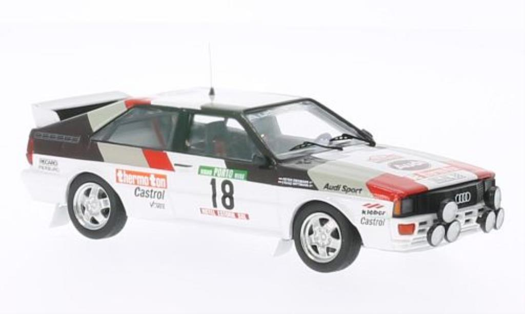 Audi Quattro 1/43 Trofeu No.18 thermo ton Rally Portugal 1982 /P.Diekmann miniature