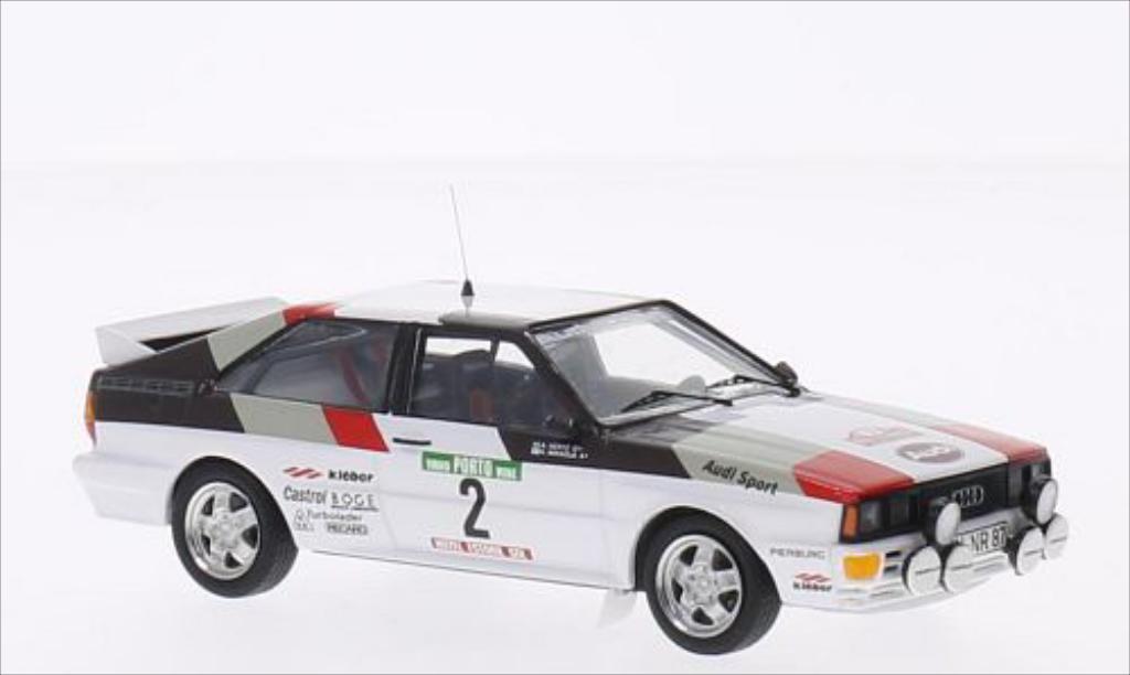 Audi Quattro 1/43 Trofeu No.2 Rallye WM Rallye Portugal 1981 /A.Hertz miniature