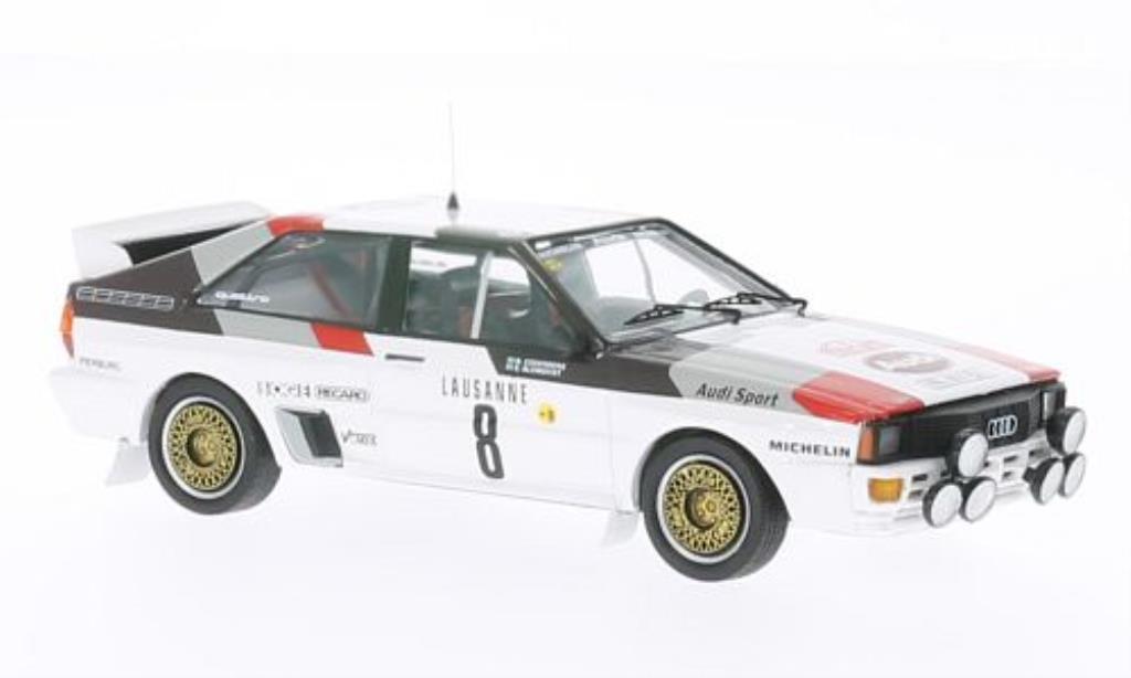 Audi Quattro 1/43 Trofeu No.8 Rally Monte Carlo 1983 /B.Cederberg miniature