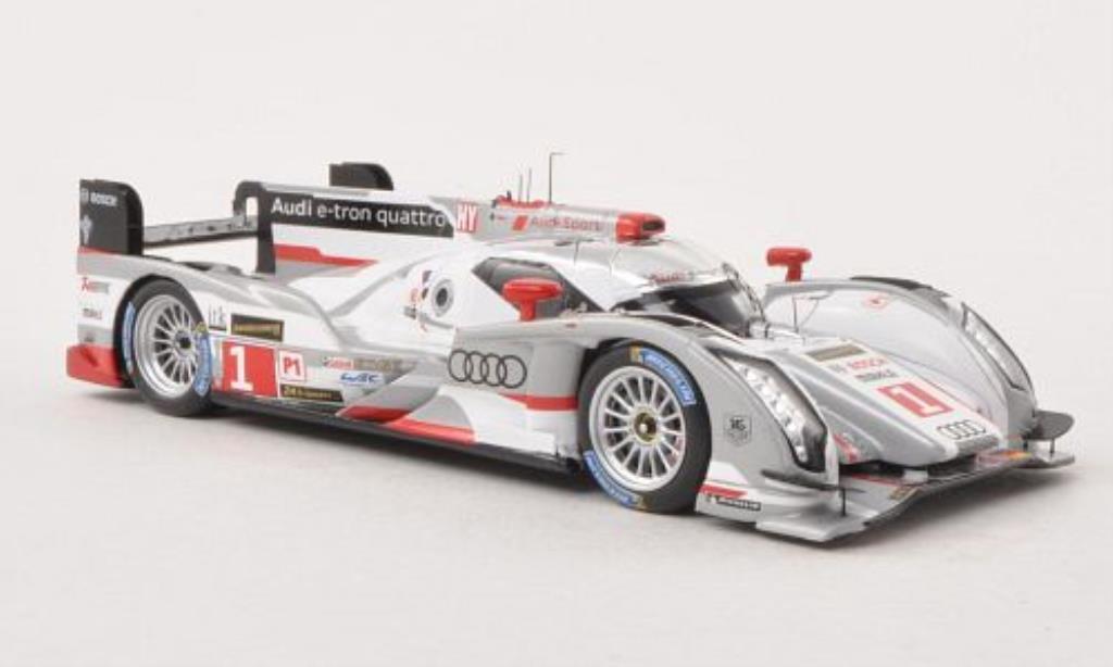 Audi R18 e-tron 1/43 Spark e-tron quattro No.1 Sport Team Joest 24h Le Mans 2013 /B.Treluyer miniature