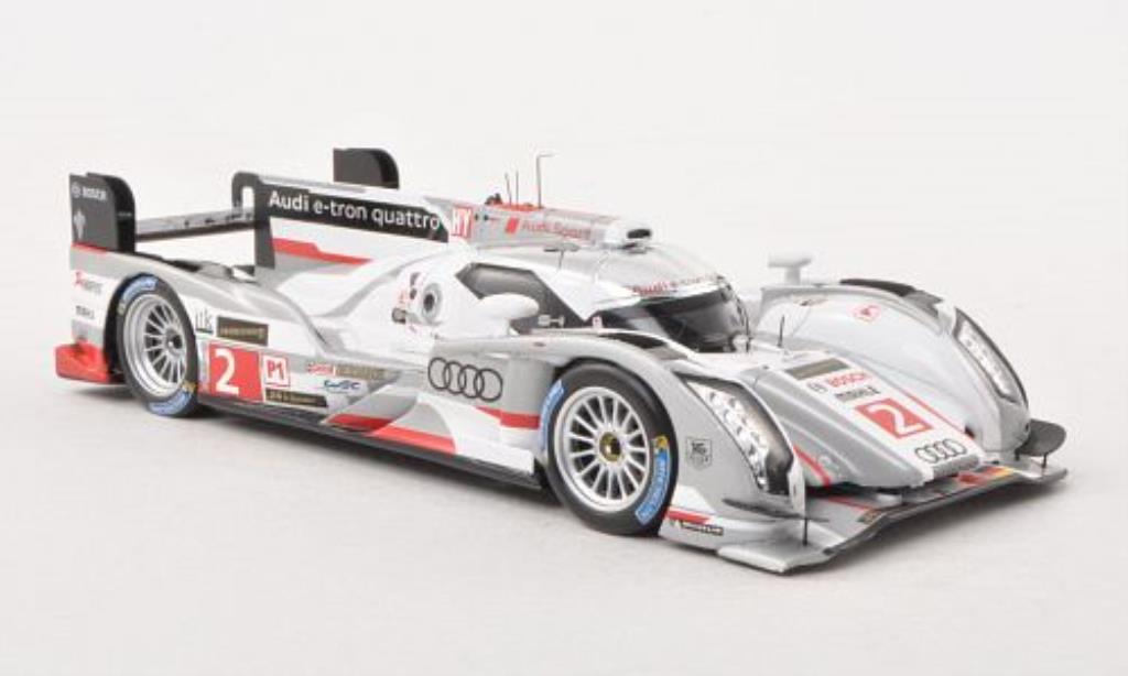 Audi R18 e-tron 1/43 Spark e-tron quattro No.2 24h Le Mans 2013 /A.McNish