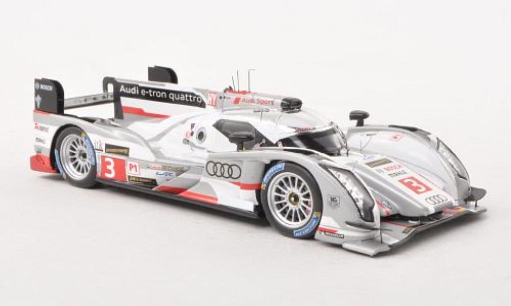 Audi R18 e-tron 1/43 Spark e-tron quattro No.3 24h Le Mans 2013 miniature