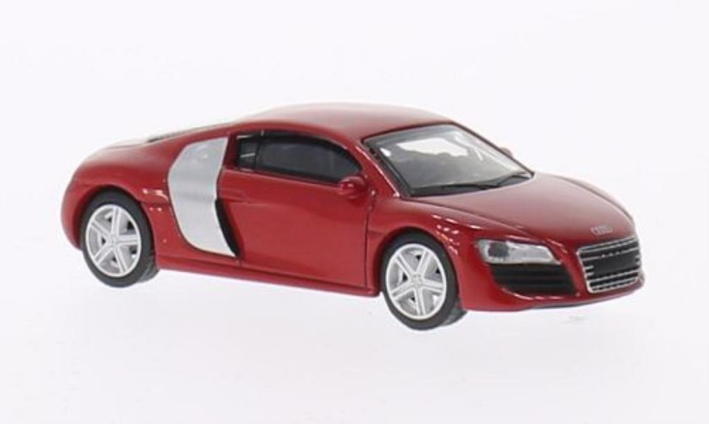 Audi R8 1/64 Schuco Coupe rouge miniature