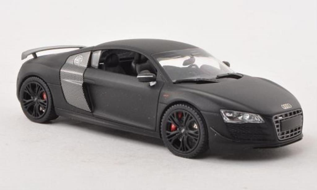 Audi R8 GT 1/43 Schuco GT matt-black/carbon diecast model cars