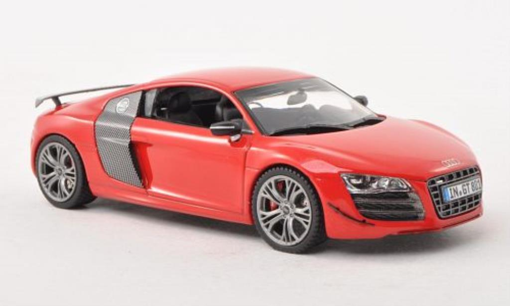 Audi R8 GT 1/43 Schuco GT red/carbon diecast model cars