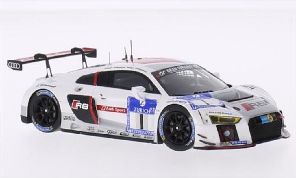Audi R8 LMS 1/43 Spark LMS No.1 Sport Team Phoenix 24h Nurburgring 2015 /M.Winkelhock miniature