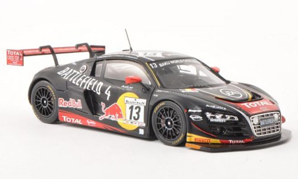 Audi R8 LMS 1/43 Spark Ultra No.13 Battlefield 4 24h of Spa 2013 /M.Fassler diecast