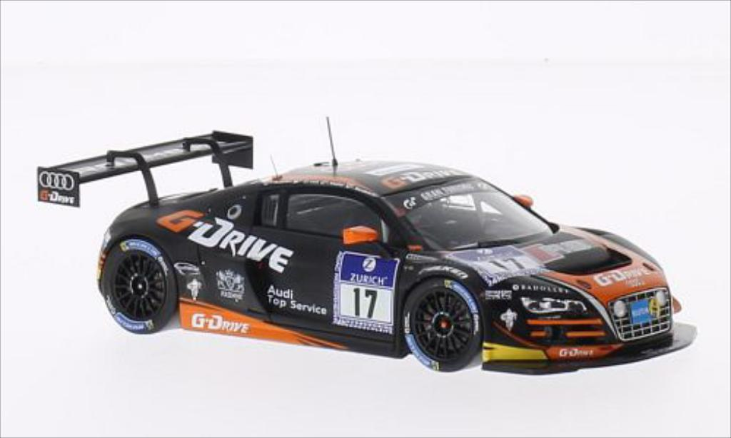 Audi R8 LMS 1/43 Spark LMS Ultra No.17 G-Drive Racing 24h Nurburgring 2014 /N.Muller diecast model cars