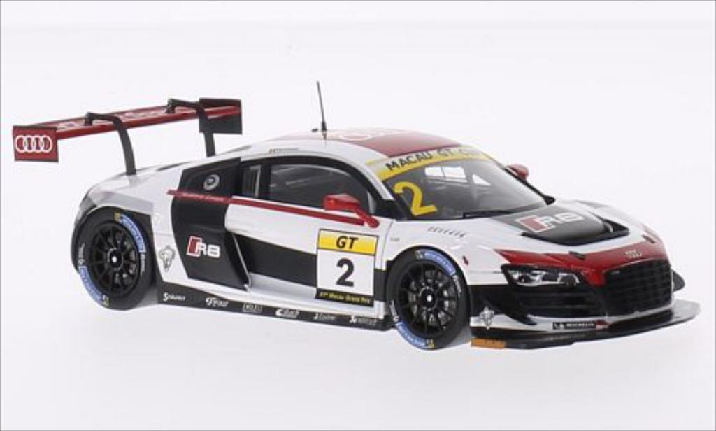 Audi R8 LMS 1/43 Spark LMS Ultra No.2 GT Cup GP Macau 2014 modellino in miniatura