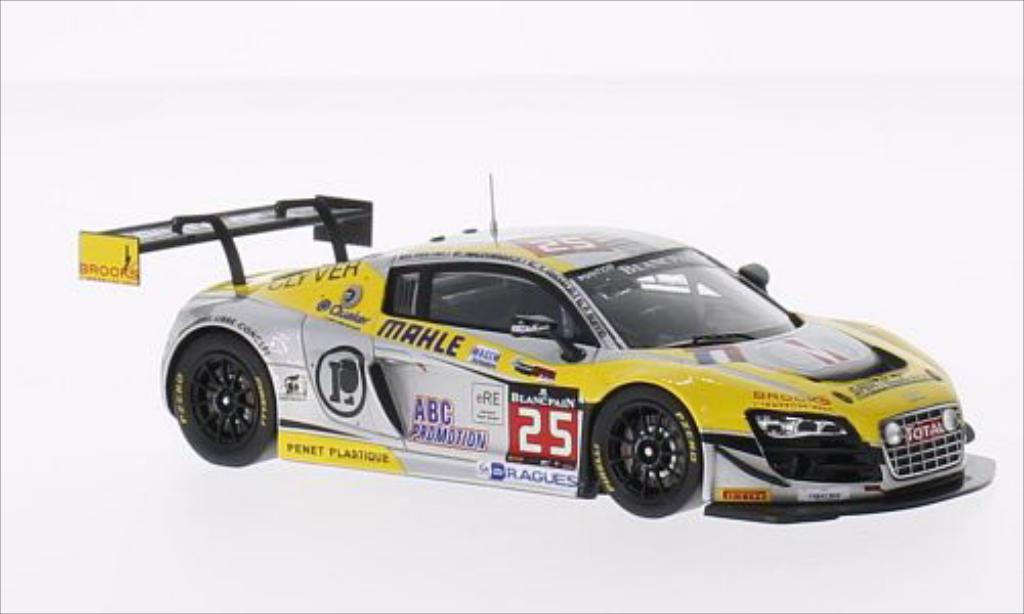 Audi R8 LMS 1/43 Spark Ultra No.25 Sainteloc Racing 24h Spa 2014 /P.Haezebrouck miniature