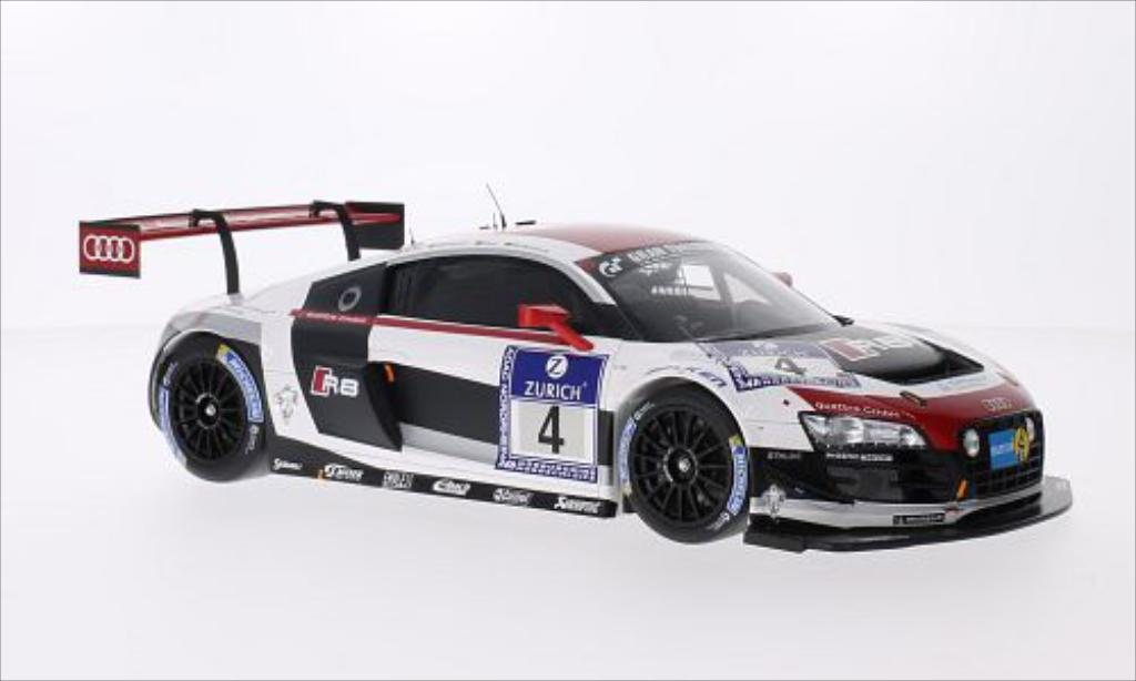 Audi R8 LMS 1/18 Spark LMS Ultra No.4 Phoenix Racing 24h Nurburgring 2014 diecast model cars