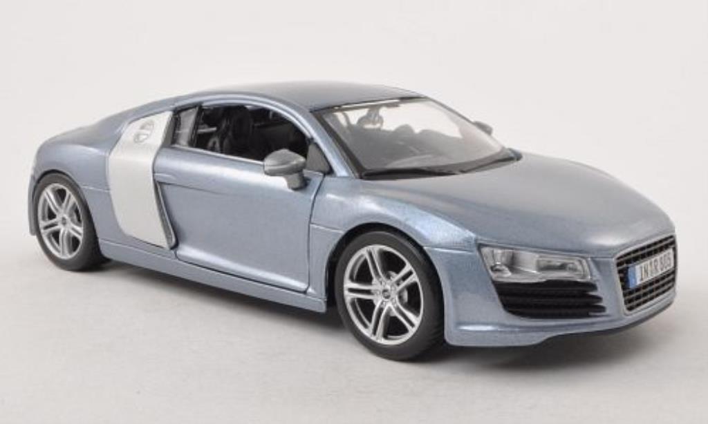 Audi R8 1/24 Maisto grise miniature