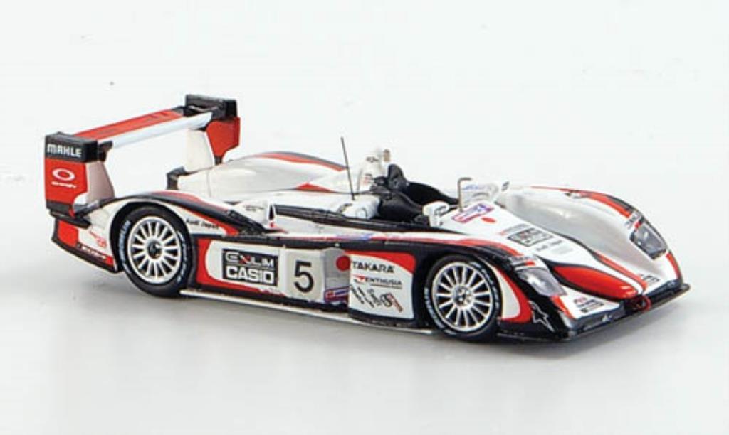 Audi R8 1/87 Spark No.5 Casio Exilim Sieger 24h Le Mans 2004 / Kristensen miniature