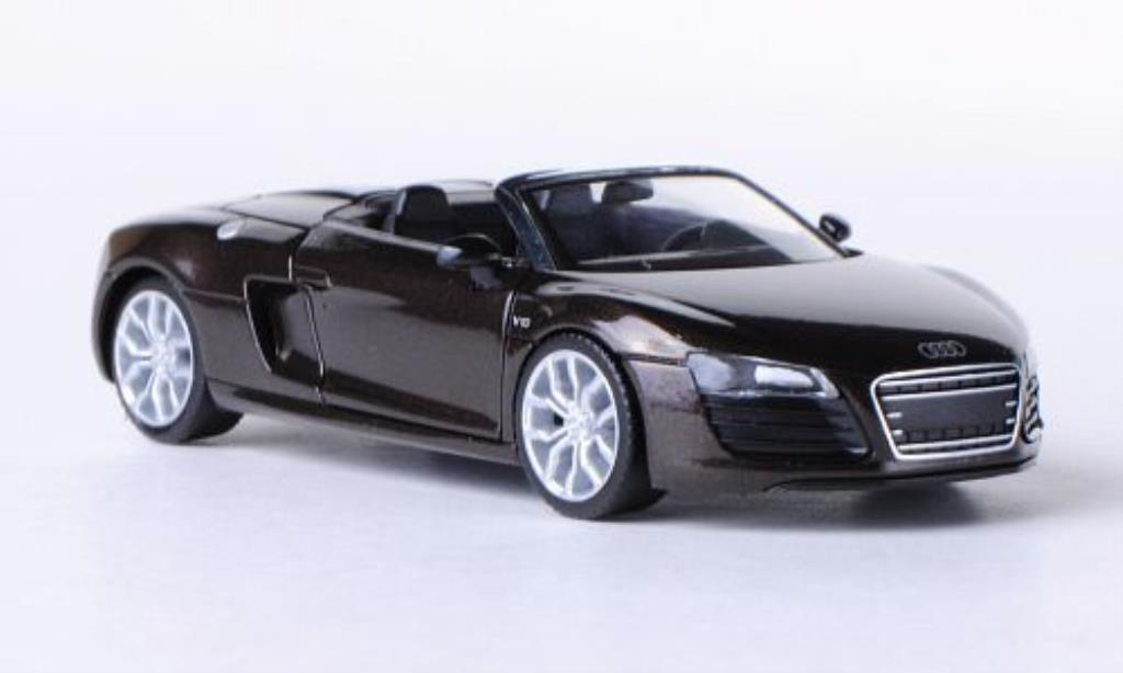 Audi R8 Spyder 1/87 Herpa brown 2012 diecast model cars