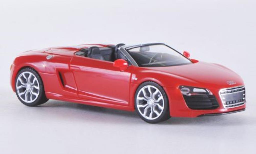 Audi R8 Spyder 1/87 Herpa red 2012 diecast model cars