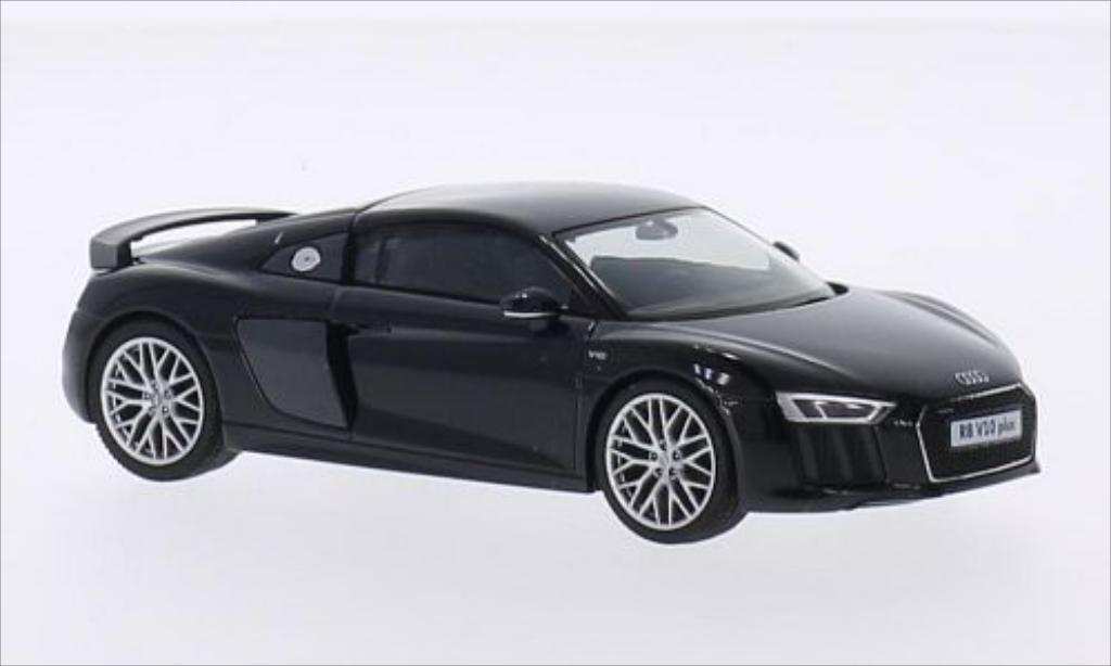 Audi R8 1/43 Herpa V10 Plus metallise black diecast model cars