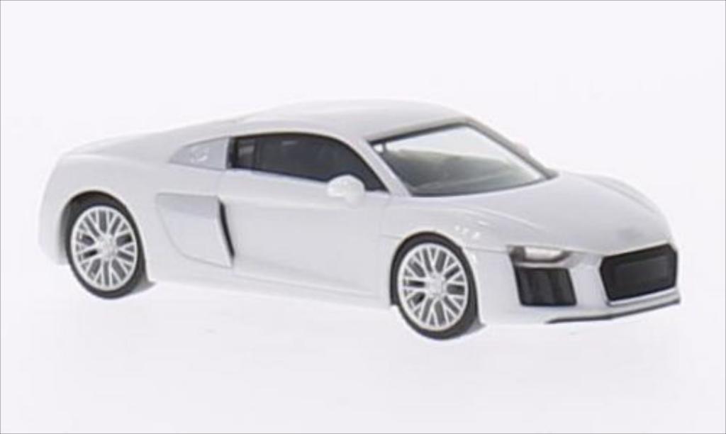 Audi R8 1/87 Herpa V10 blanche