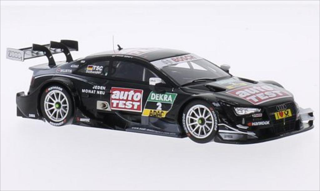 Audi RS5 DTM 1/43 Spark No.2 Audi Sport Team Phoenix Auto Test 2014 miniature