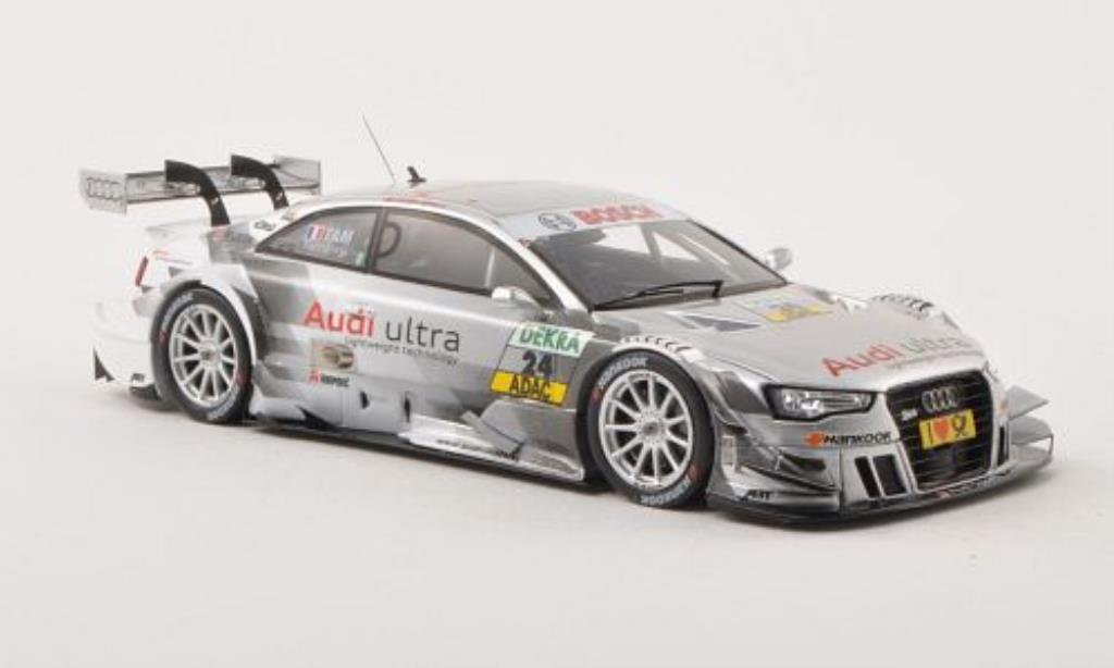 Audi RS5 DTM 1/43 Spark No.24 Team Abt -Saison 2013 diecast model cars