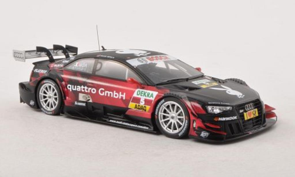 Audi RS5 DTM 1/43 Spark No.5 Playboy Sport Team Rosberg Saison 2013 diecast model cars