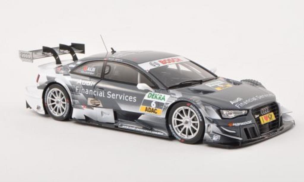 Audi RS5 DTM 1/43 Spark No.6 Sport Team Rosberg -Saison 2013 miniature