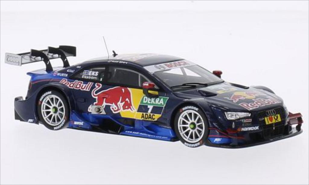 Audi RS5 DTM 1/43 Spark No.7 Audi Sport Team Abt Sportsline Red Bull 2014 miniature